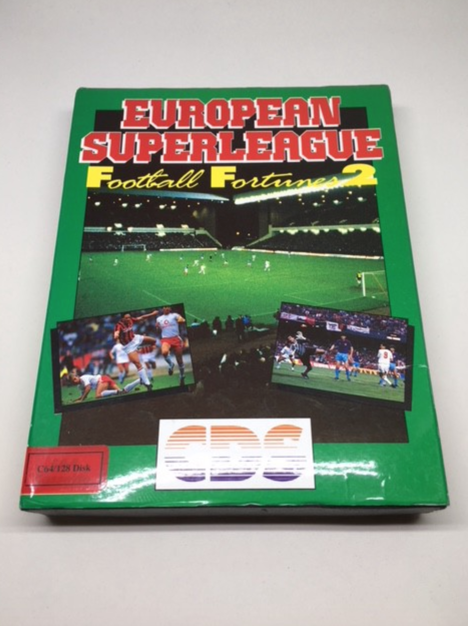 European Superleague Football Fortunes 2 the sequel to the 80s classic Brian Clough's Football Fortunes by CDS Software Limited