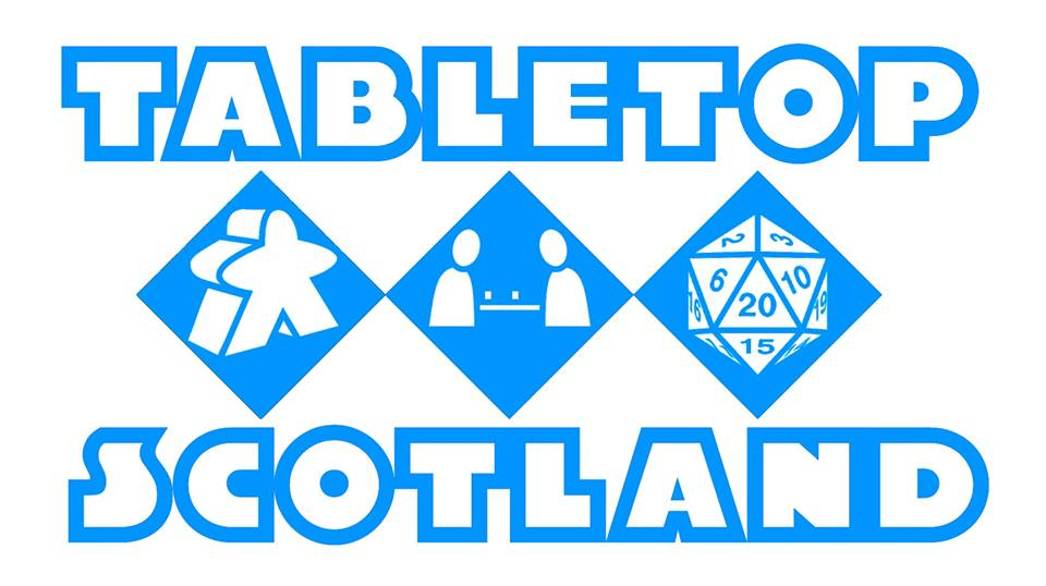 We'll Be Exhibiting at Tabletop Scotland