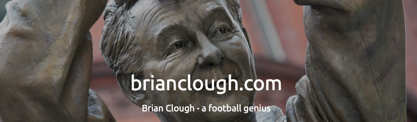 Football Fortunes featured on the official Brian Clough website